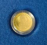 Moneda de 50 bani cu caracter comemorativ (in capsula) Iancu de Hunedoara / F705, Alama