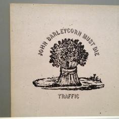 TRAFFIC - JOHN BARLEYCORN MUST DIE (1970/ISLAND/RFG) - Vinil/Vinyl/IMPECABIL(M-) - Muzica Rock emi records