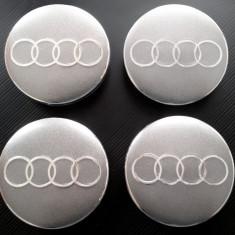 Capace Jante aliaj Audi aftermarket - 55 / 60 mm - Capace janta