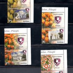 ROMANIA 2017 - SIMFONIA LALELELOR, PITESTI - VINIETA 2 - LP 2141 - Timbre Romania, Nestampilat