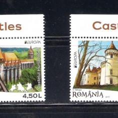 ROMANIA 2017 - CASTELE - LP 2142 - Timbre Romania, Nestampilat