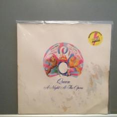 QUEEN - A NIGHT AT THE OPERA (1975/EMI/RFG) - Vinil/Vinyl/discul Impecabil - Muzica Rock emi records