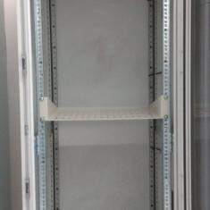 Cabinet Rack Retelistica 36 U, White, Usa Sticla