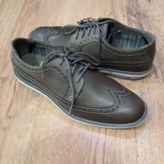 Pantofi barbat TIMBERLAND Sensorflex originali noi piele foarte comozi sz.41, Culoare: Gri, Piele naturala, Casual