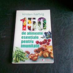 150 DE ALIMENTE ESENTIALE PENTRU IMUNITATE - KIRSTEN HARTVIG - Carte Dietoterapie