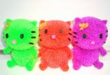 Jucarie  silicon cu led - modele Ferma animalelor -  h 10 cm- Hello Kitty,1 buc, 4-6 ani, Unisex