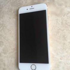 iPhone 6 Apple 128gb gold, folosit stare f buna, neverloked, incarcator!PRET:1530lei, Auriu, Neblocat