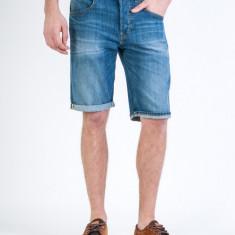 Blugi scurti Lee | Regular, 5 Pocket Short 30, Albastru, Lungi