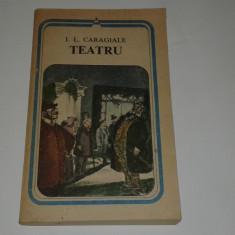 I.L.CARAGIALE - TEATRU - Carte Teatru