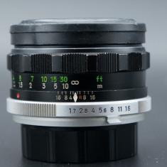 Obiectiv Minolta MC Rokkor PF 55mm 1.7, MD adaptabil Sony, Fuji, Samsung - Obiectiv mirrorless