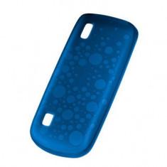 Husa soft Nokia CC-1035 albastra pentru Nokia 300 Asha