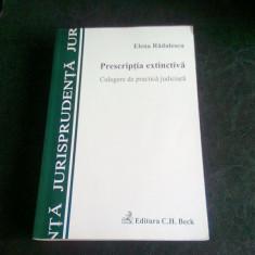 PRESCRIPTIA EXTINCTIVA - ELENA RADULESCU