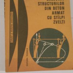 CALCULUL STRUCTURILOR DIN BETON ARMAT CU STALPI ZVELTI-R.AGENT, V.BANUT - Carti Constructii