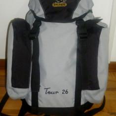 Rucsac SALEWA TOUR 26 litri munte AIR ZONE SYSTEM rezistent transport inclus - Ghiozdan, Unisex, Gri