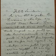 Scrisoare olografa a lui C-tin Radulescu Motru catre Henric Sanielevici , 1931