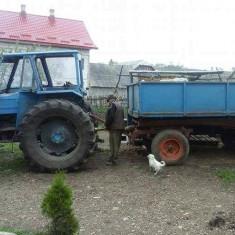 Tractor dt 100 cp remorca freză plug