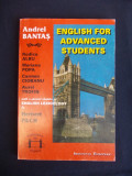 ANDREI BANTAS - ENGLISH FOR ADVANCED STUDENTS - IASI - 1993