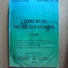 N. Ganuta, Al. Bucur - Chirurgie maxilo-faciala, curs, Gr. Ed. National, 2003
