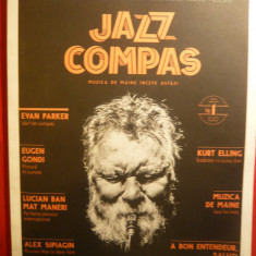 Revista de Jazz - Jazz- Compas-48 pag. + 2 invitatii, Alte tipuri suport muzica