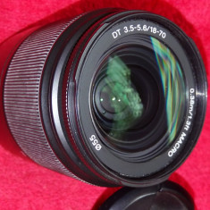 Obiectiv SONY 18-70mm (montura Sony Alpha si Minolta)-ca nou! - Obiectiv DSLR