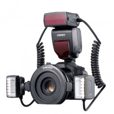 Yongnuo YN24EX Blitz macro E-TTL pentru Canon - Blitz circular
