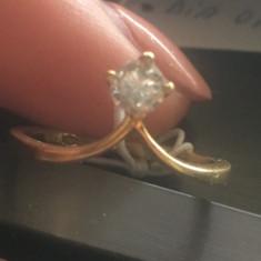 Inel diamant, Carataj aur: 18k, Culoare: Galben