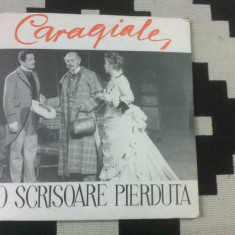 O scrisoare pierduta i l caragiale dublu disc 2 lp vinyl teatru dramatizare - Muzica pentru copii electrecord, VINIL