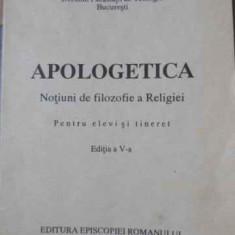 Apologetica Notiuni De Filozofie A Religiei - Ioan Mihalcescu, 396643 - Carti ortodoxe