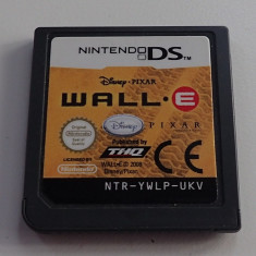 Caseta Joc Wall-E originala Nintendo NDS DS Lite 2DS 3DS perfect functionala - Jocuri Nintendo DS, Arcade, Toate varstele, Multiplayer