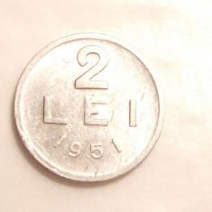 2 LEI 1951 - Moneda Romania