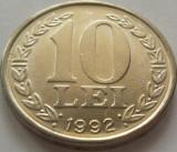 Moneda 10 LEI - ROMANIA, anul 1992 *cod 1591  xF+