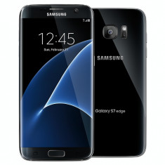 Samsung Galaxy S7 edge, black, dual sim noi noute sigilate la cutie!PRET:2140lei - Telefon Samsung, Negru, 32GB, Neblocat