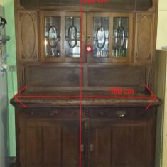 Vând mobilă antică din lemn masiv