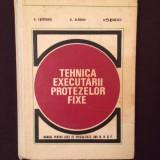 Tehnica executarii protezelor fixe,Ion Randasu coletiv (anul 3 4 5)