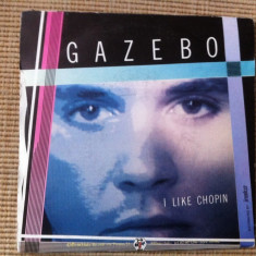 Gazebo i like chopin disc single vinyl muzica pop disco hit anii 80 editie vest, VINIL