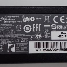 Alimentator Incarcator HP Pin ID 19.5V 2.31A 45W HSTNN-LA40 model nou 740015 - Incarcator Laptop Compaq, Incarcator standard
