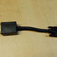ADAPTOR DVI TATA DVI +VGA MAMA (Bis) - Adaptor interfata PC