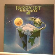PASSPORT - INFINITY MACHINE (1976/WARNER/ENGLAND) - Vinil/Vinyl/Impecabil(M-) - Muzica Jazz