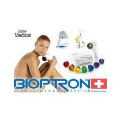 Bioptron Compact III, cu 7 lentile/chakre, trepied, 3 geluri, 1 oxy spray, nou