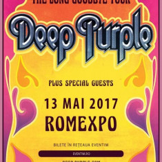 Bilete Deep Purple gazon A! - Bilet concert