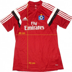 Tricou fotbal ADIDAS original impecabil (M) cod-261416 - Set echipament fotbal Adidas, Marime: M