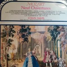 Disc vinil - Mozart-9 uverturi