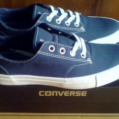 1+1/2 sau 2+1 Gratis - Tenisi Converse All Star Derby 42EU -produs original- - Tenisi barbati Converse, Culoare: Albastru, Textil