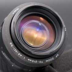 Obiectiv Minolta AF 70-210mm f4-5.6 montura Sony A - Obiectiv DSLR Sony, Tele, Autofocus