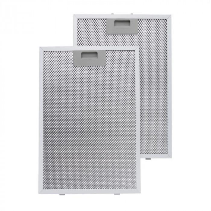 Klarstein filtru de grăsime din aluminiu, 26 x 37 cm, filtru de înlocuire foto mare