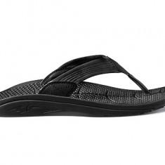 Slapi barbati OLUKAI ORIGINALI noi - model Kohola black M10 (43 Eu), Culoare: Negru
