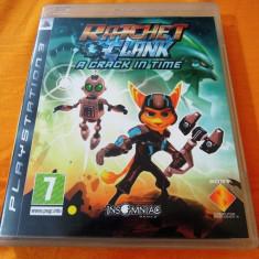 Joc Ratchet and Clank A Crack in Time, PS3, original, alte sute de jocuri! - Jocuri PS3 Sony, Actiune, 12+, Single player