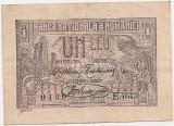 ROMANIA 1 LEU 1920 AUNC