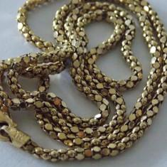 Lantisor argint placat cu aur -2135
