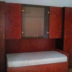 Mobila dormitor 1 persoana, stare foarte buna, cu saltea - Dormitor complet